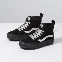 Vans Kids Shoes Kids Sk8-Hi MTE Glitter Sidewall/Black