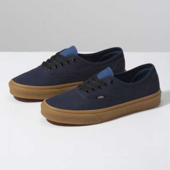 Vans Men Shoes Gum Authentic Night Sky/True Navy