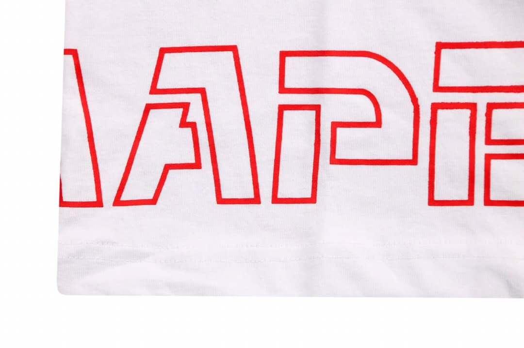 Aape 19ss Ape Head Print T-Shirt White