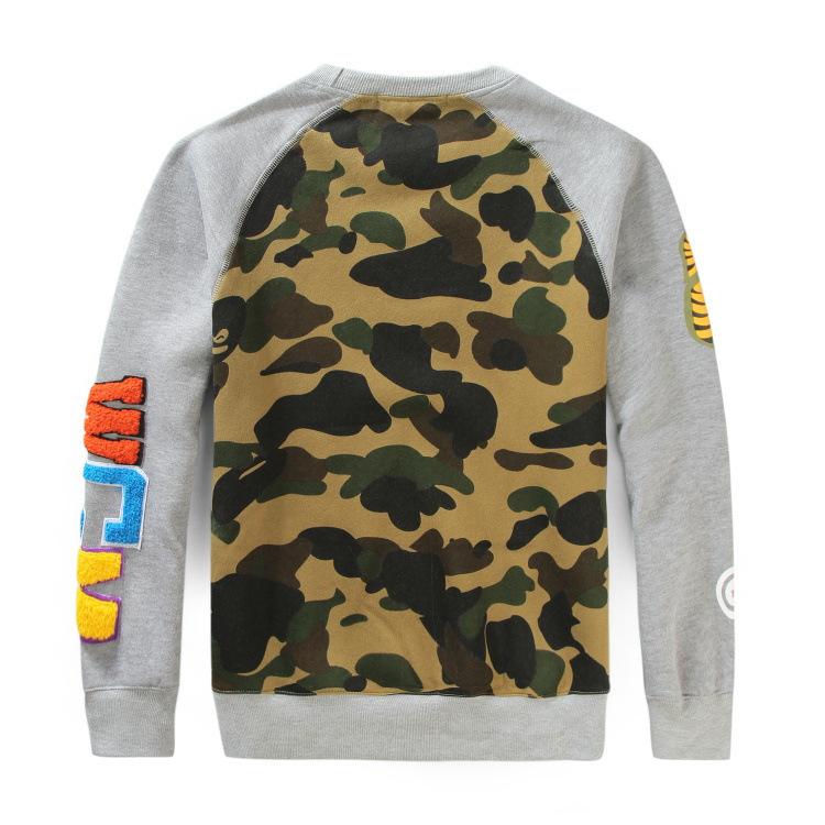 Bape Shark Crewneck Sweatshirt