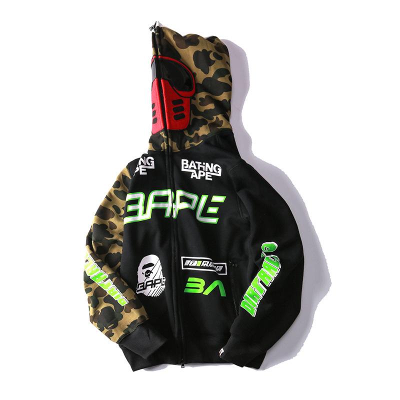 bape jacket full zip
