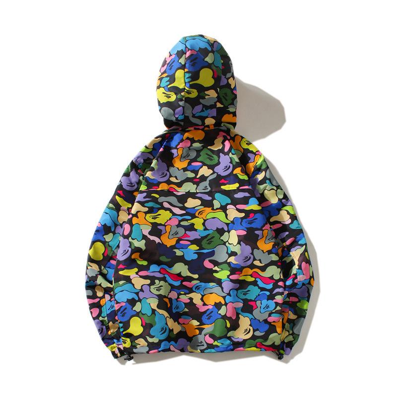 Bape Full Zip Candy Camo Hoodie