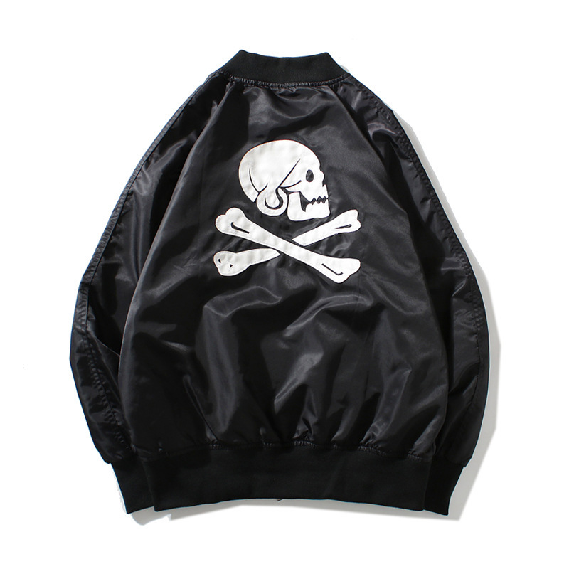 black bape bomber jacket