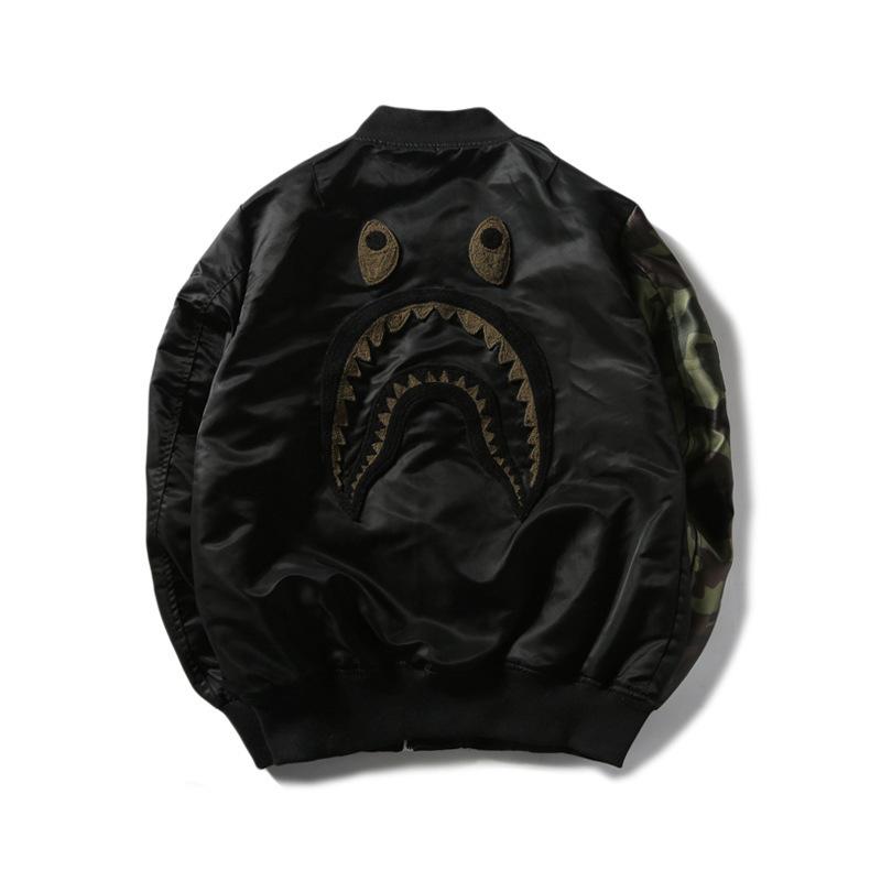 bape bomber jacket men