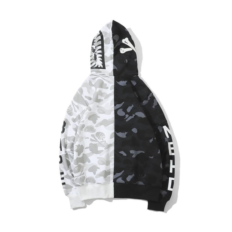 bape full zip hoodie