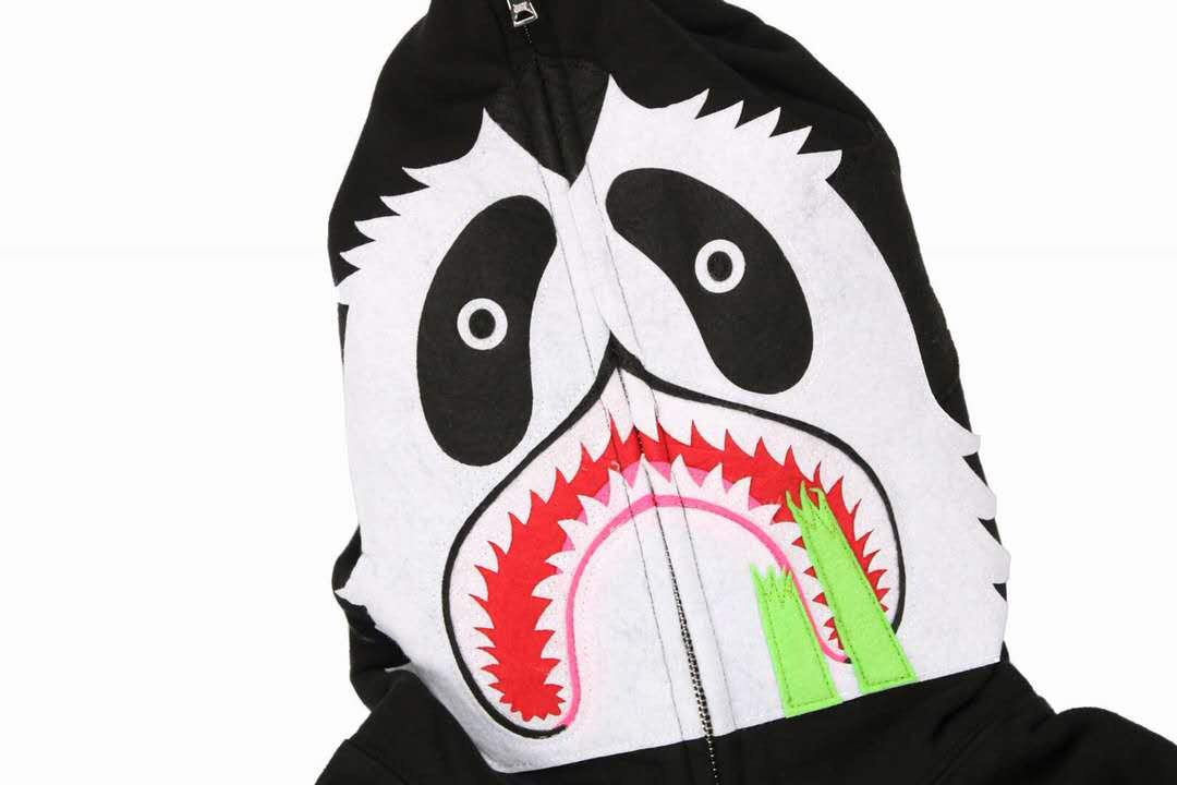 bape panda hoodie