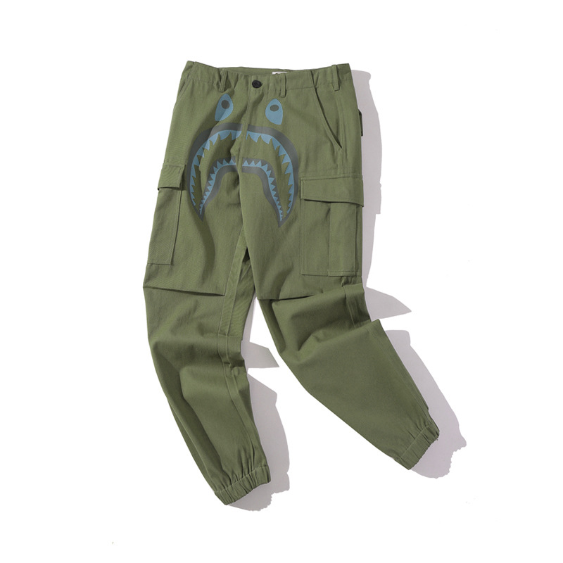 BAPE Shark Head Pants