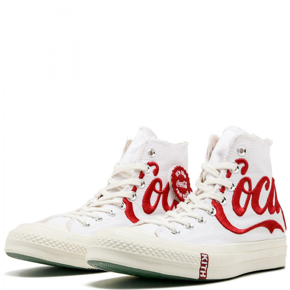 Converse Chuck Coca-Cola - OG 70 Hi White Shoes