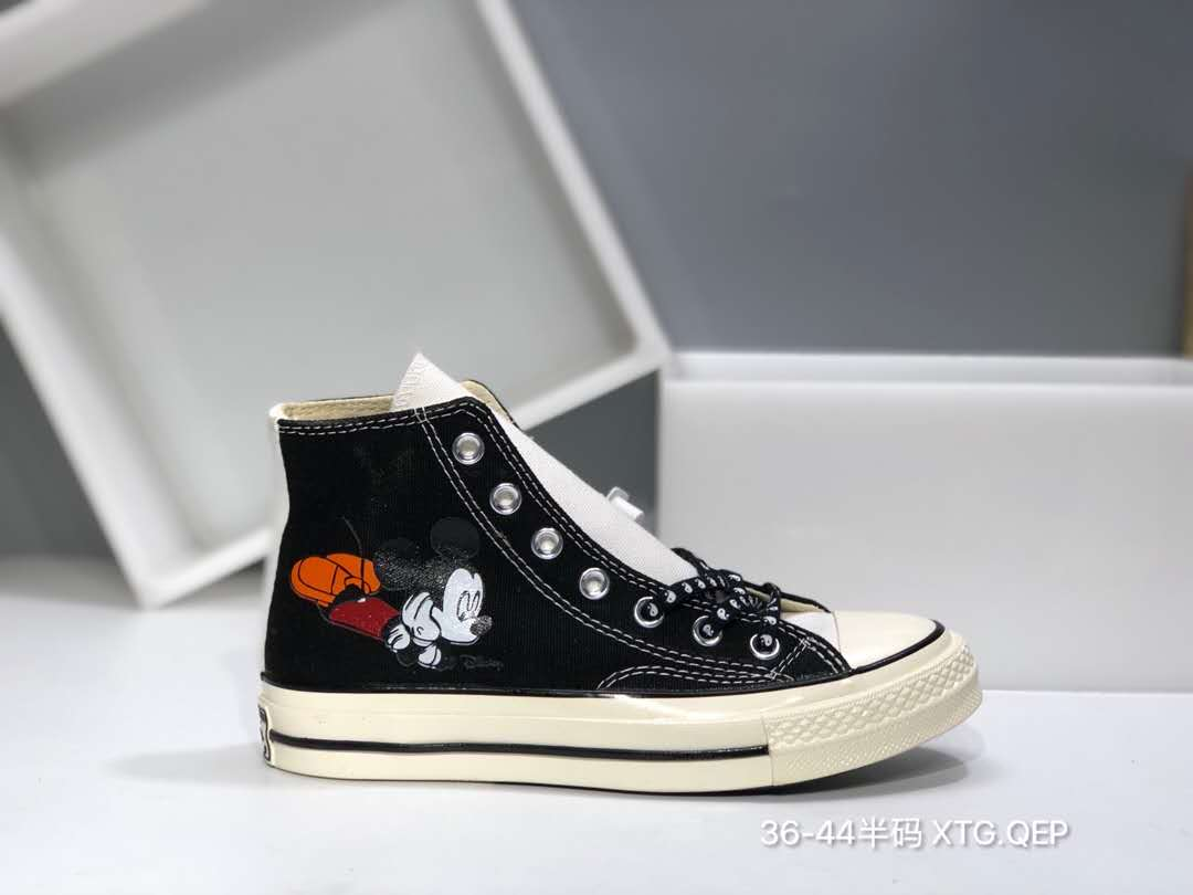 mickey mouse high top converse