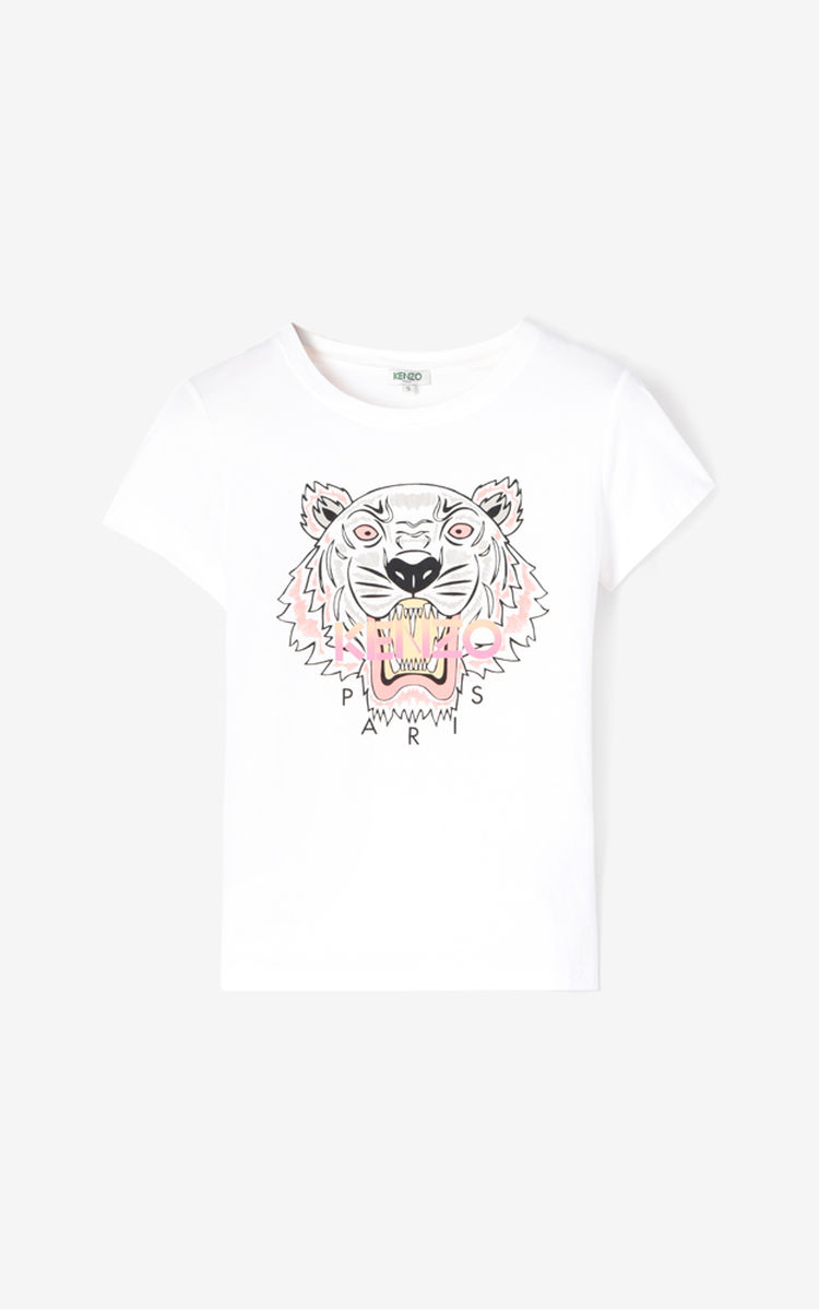 Kenzo Tiger Tee Womens Front Face