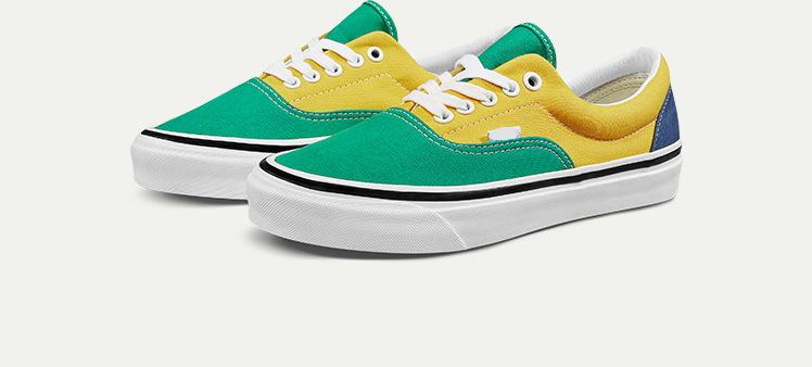 vans era patchwork sneakers