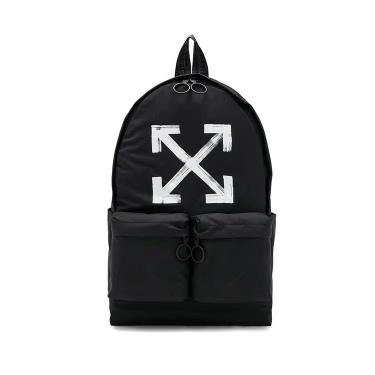 off white logo backpack