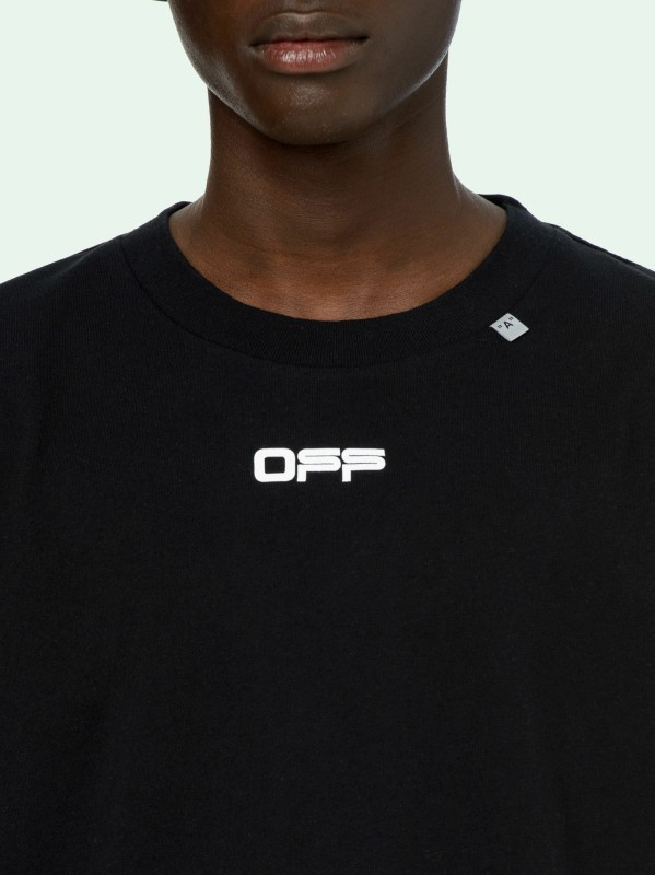 Off-White letter face tee