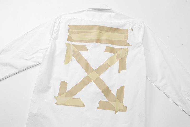 off white mens shirt