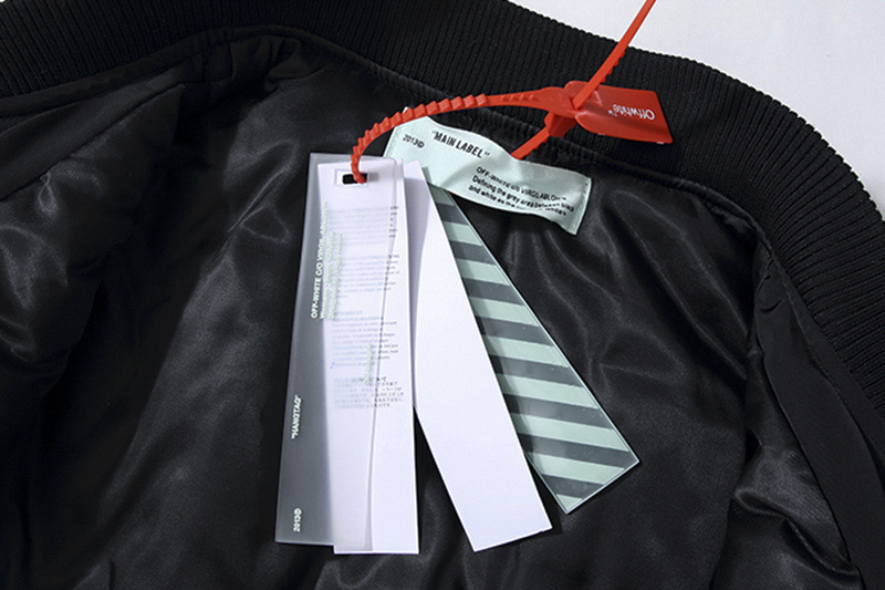 off white black cowboy jacket