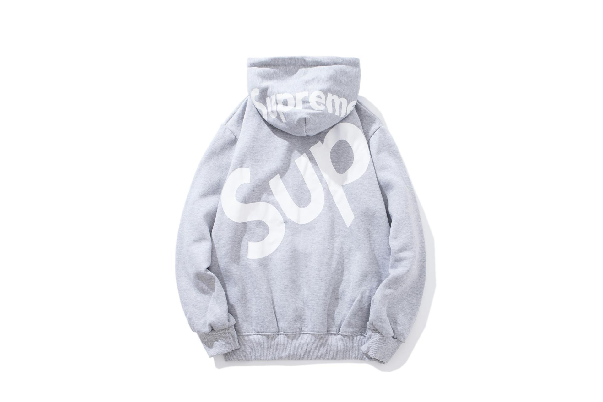 supreme letter hoodie