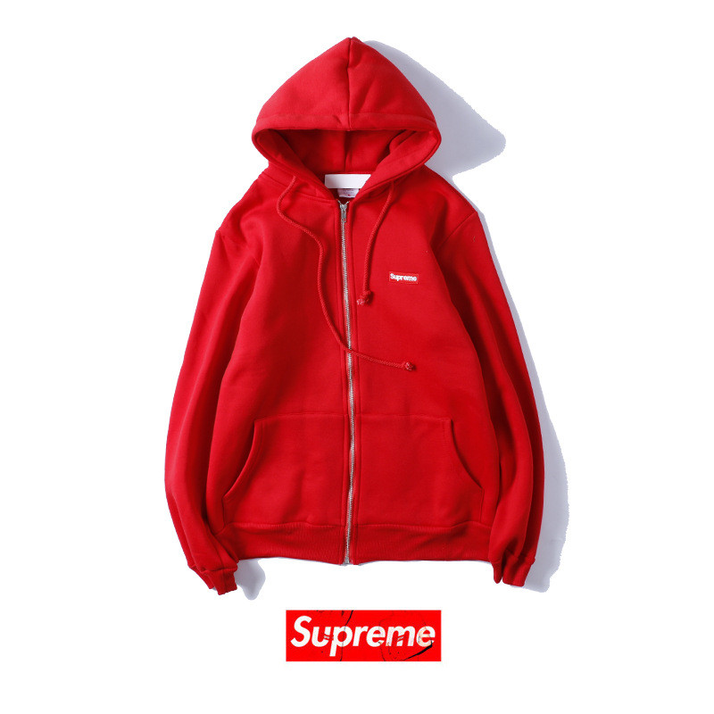 supreme hoodie with zipper