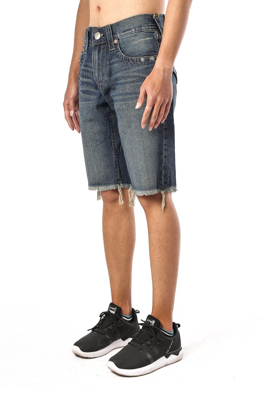 True Religion Men's Jeans Shorts Side