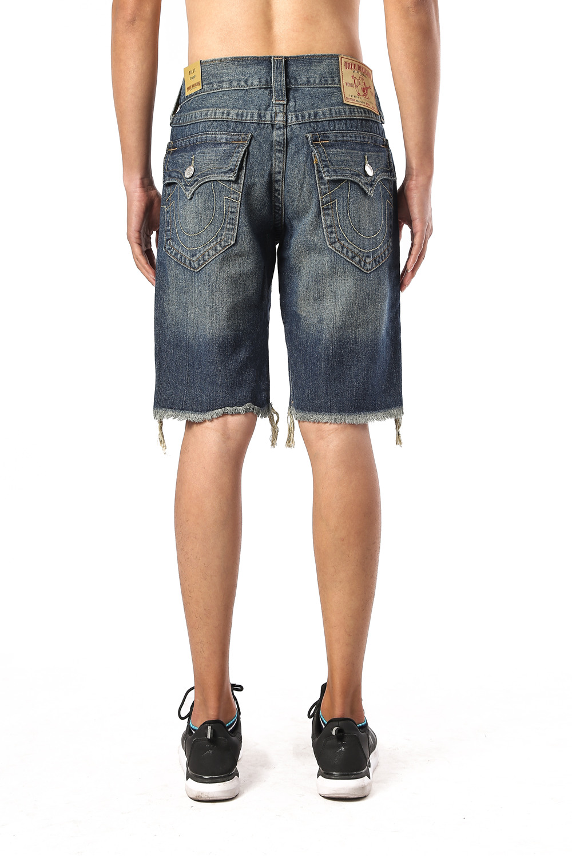 True Religion Men's Jeans Shorts Back