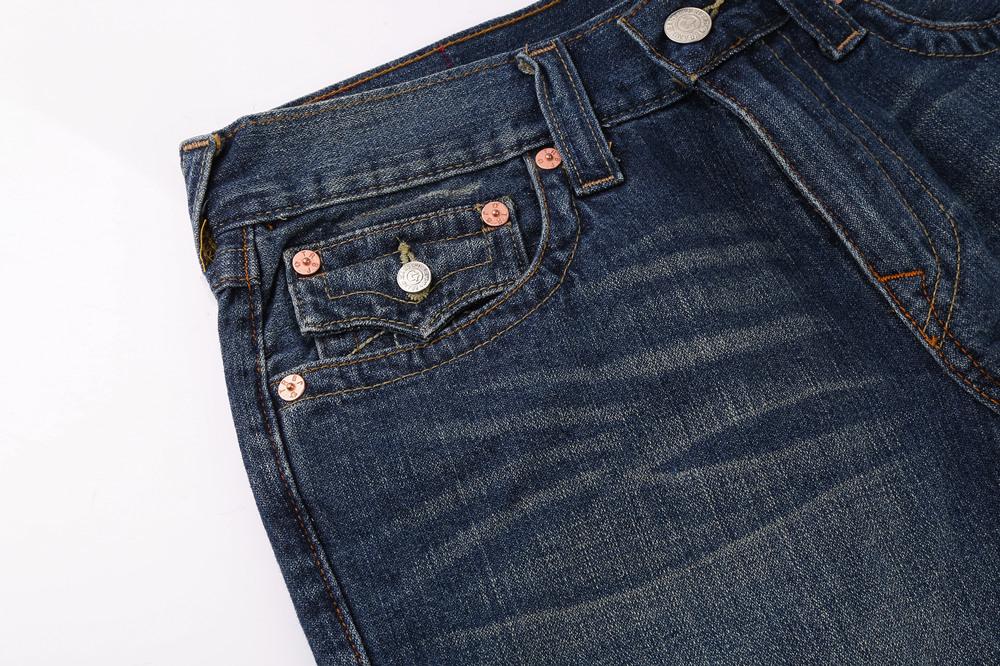 True Religion Men's Jeans Shorts Pocket