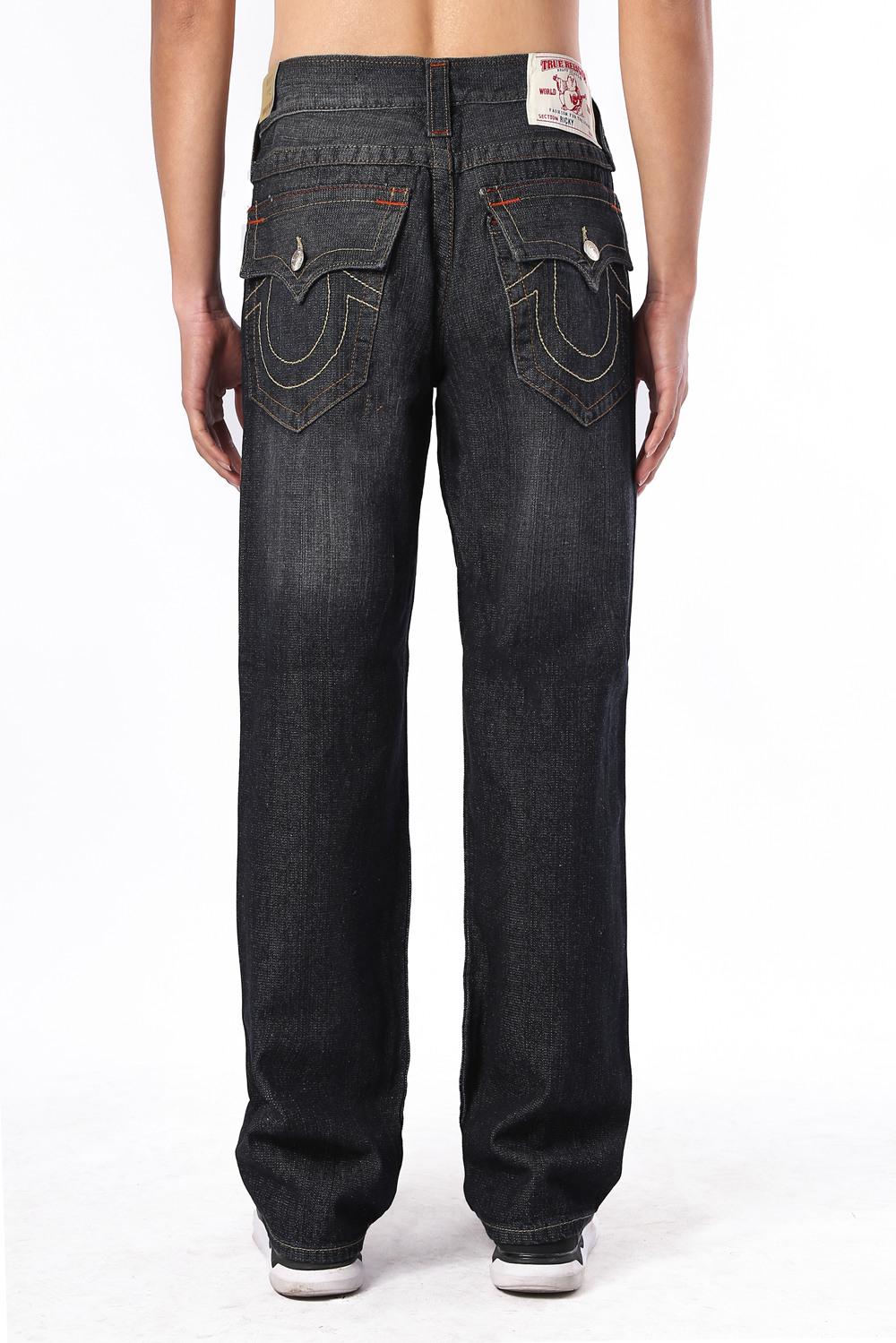 True Religion Mens Jeans Back