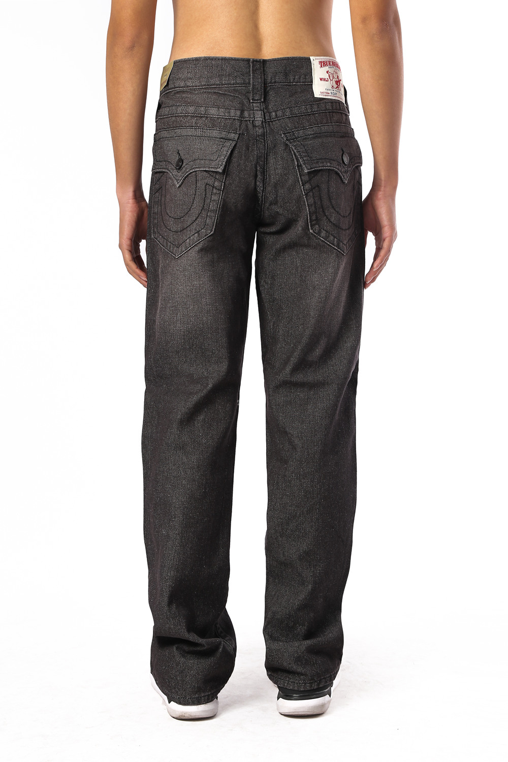 True Religion Mens Jeans Back
