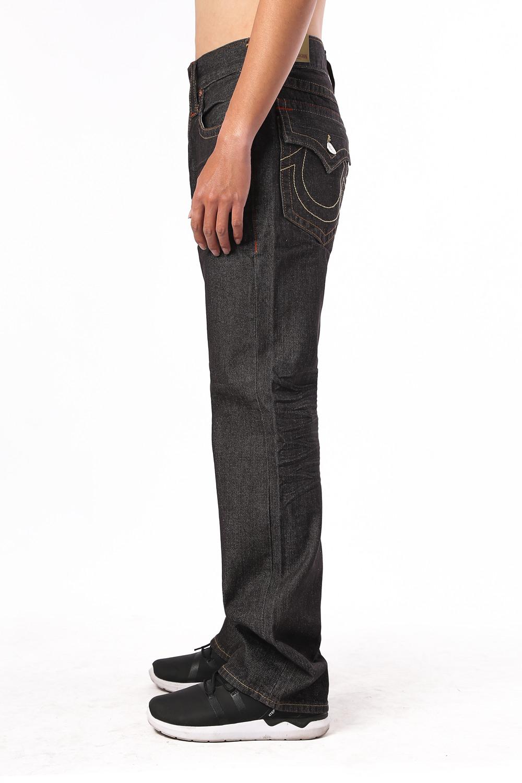 Black Slim True Religion Men's Jeans