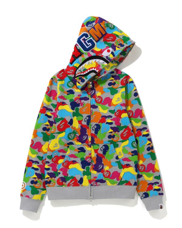 Milo ABC Multi Shark full zip hoodie