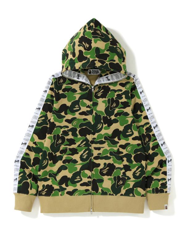 ABC Bape Sta Tape full zip hoodie
