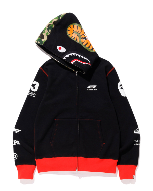 F1 Bape Shark full zip hoodie