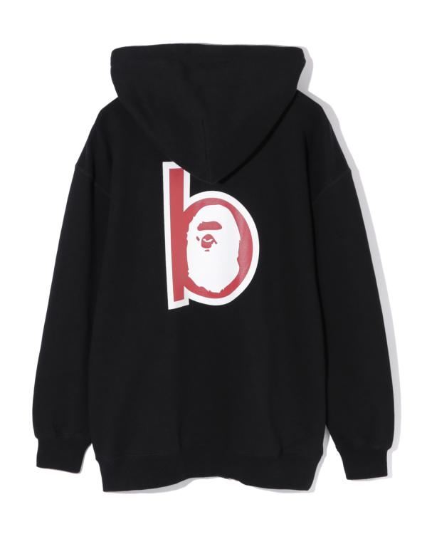 Ape Head patch zip hoodie