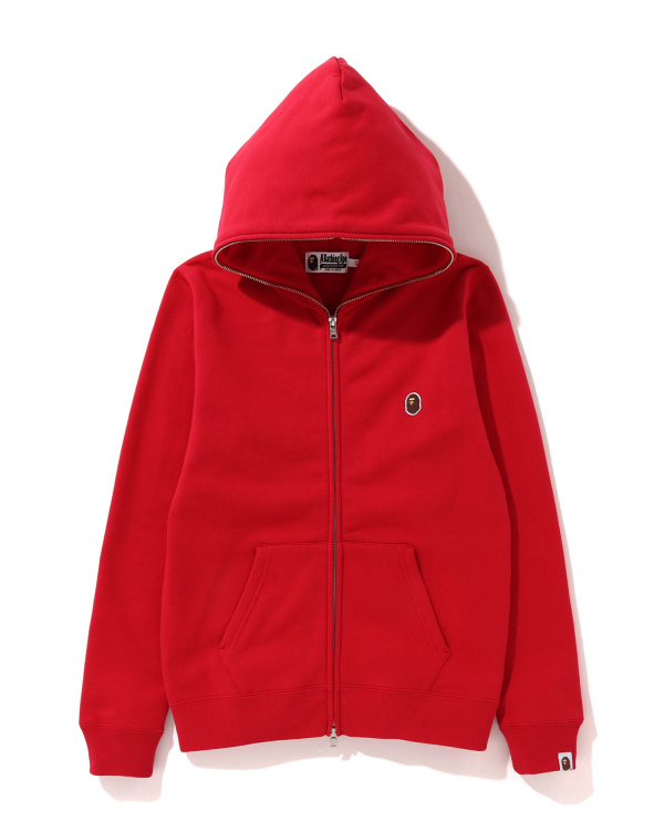 One Point zip hoodie