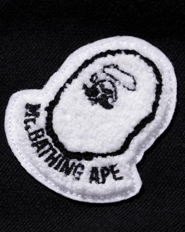 Mr Bathing Ape patched hoodie