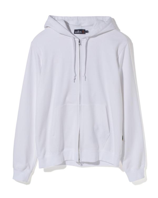 Mr Bathing Ape Embroidery zip hoodie