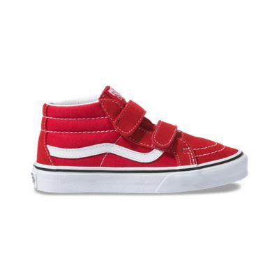 Vans Kids Shoes Kids Sk8-Mid Reissue V Red/True White