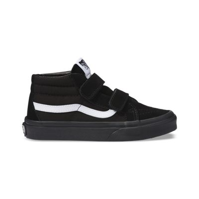 Vans Kids Shoes Kids Canvas Suede Sk8-Mid Reissue V black/black
