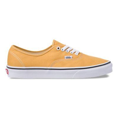 Vans Men Shoes Authentic Ochre/True White