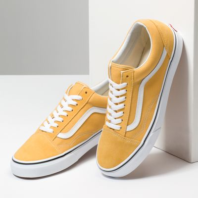 Vans Men Shoes Old Skool Ochre/True White