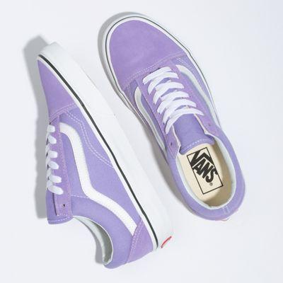 Vans Women Shoes Old Skool Violet Tulip/True White
