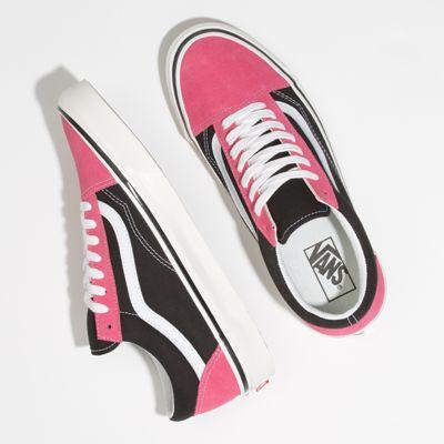Vans Women Shoes Anaheim Factory Old Skool 36 DX Og Pink/Og Black
