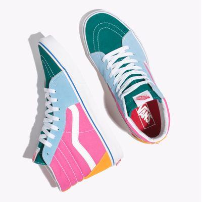 Vans Men Shoes Sk8-Hi Multi/Bright