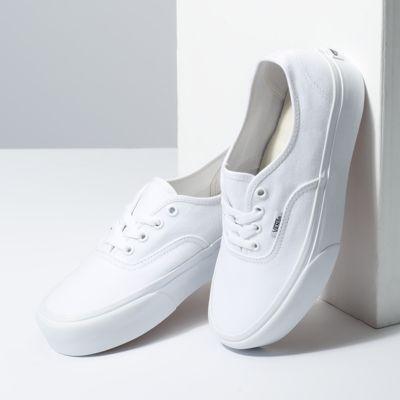 Vans Women Shoes Authentic Platform 2.0 True White