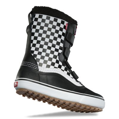 Vans Women Shoes Standard V MTE Snow Boot Checkerboard/Black