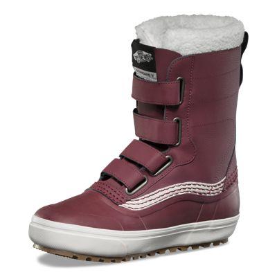 Vans Women Shoes Standard V MTE Snow Boot Andorra Red/Turtledove