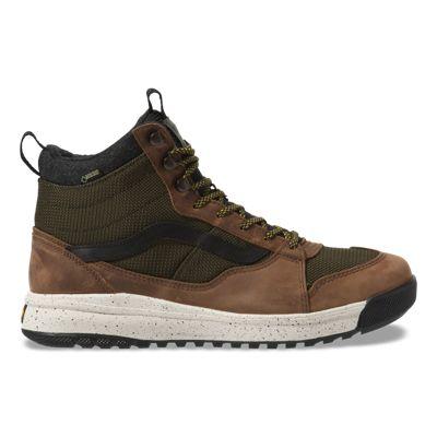 Vans Women Shoes UltraRange MTE Hi Gore-Tex Green/Brown