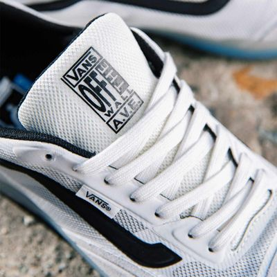 Vans Men Shoes AVE Pro Blanc De Blanc/Black