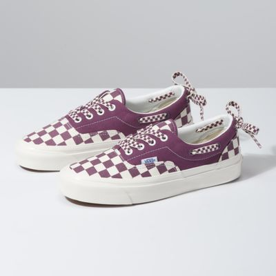 Vans Women Shoes Anaheim Factory Style 95 Lacey DX OG Grape/Checkerboard