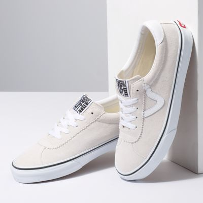 Vans Men Shoes Suede Vans Sport White