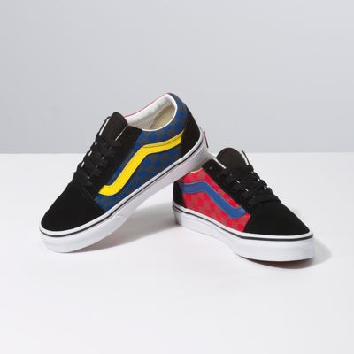 Vans Kids Shoes Kids OTW Rally Old Skool Checker/Multi/Black
