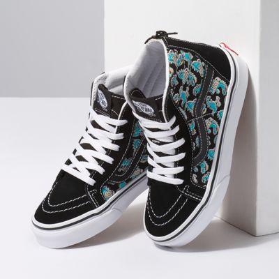 Vans Kids Shoes Kids Vanosaur Sk8-Hi Zip Black/True White